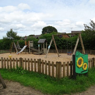 Photograph of younger children's play area in park