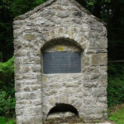 Photo of Boundary Stone at Loggerheads