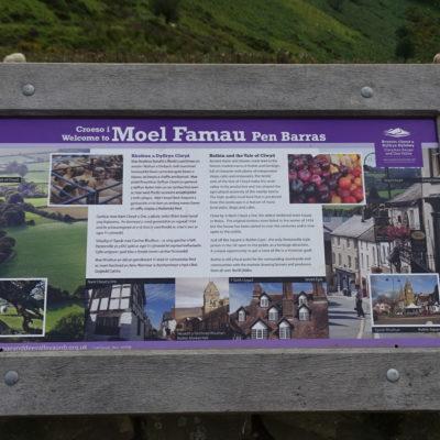 Photo of Moel Famau Sign