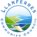 Llanferres Community Council logo